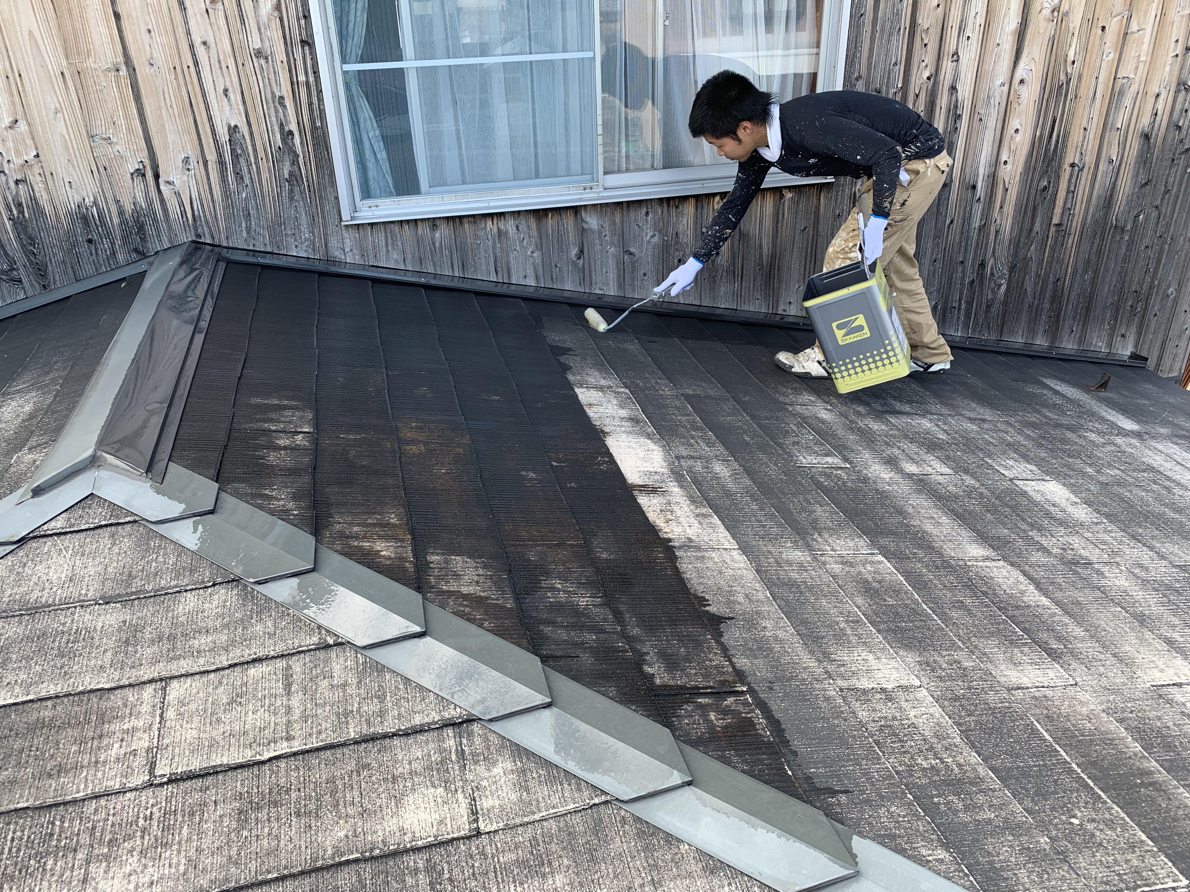 滋賀 近江八幡  屋根 塗り替え