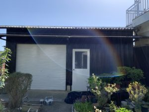 近江八幡 H様邸 塗装 塗り替え 倉庫塗装 外壁塗装